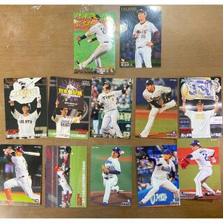 カルビー(カルビー)のプロ野球チップス カード12枚セット(シングルカード)