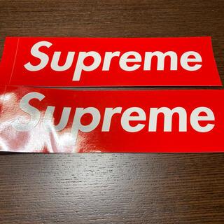 シュプリーム(Supreme)のSupreme(シュプリーム) ステッカー(しおり/ステッカー)