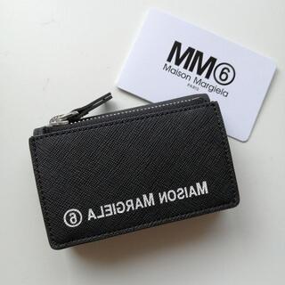 エムエムシックス(MM6)のMM6 エムエムシックス ロゴ コンパクト  三つ折り財布(財布)