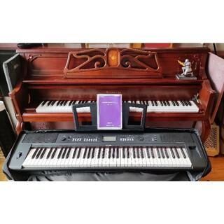 EI様専用!YAMAHA NP-V80 ブラック バッグ/ペダル付き(電子ピアノ)