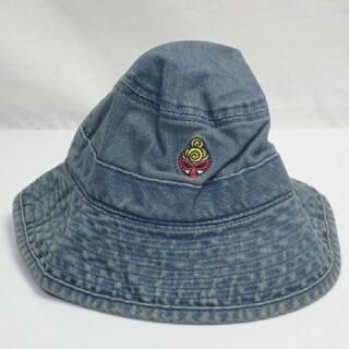 ヒステリックミニ(HYSTERIC MINI)のタグ付き/新中古/ ヒステリックミニ/ デニムバケットハット (帽子)