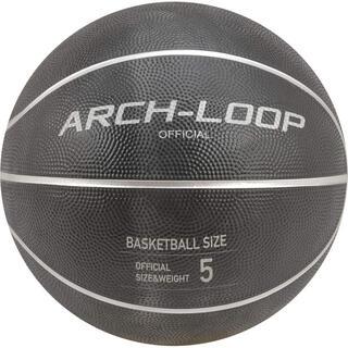 【空気入れとネット付】ARCH-LOOP 5号 バスケットボール ラバー(バスケットボール)