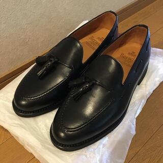 Crockett&Jones - 【新品未使用】Berwick タッセルローファー ブラック 25.5cm