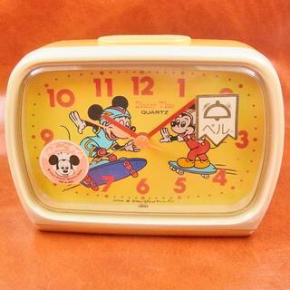 SEIKO - 昭和レトロ ディズニータイム 目覚まし時計 ミッキーマウス アラーム ベル