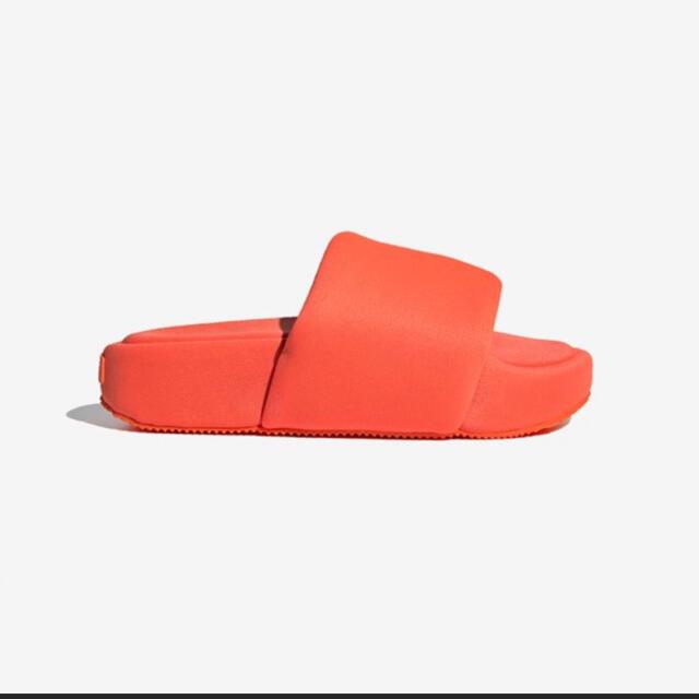 Y-3(ワイスリー)の新品未使用 Y-3 ワイスリー 厚底 サンダル 27.5cm オレンジ メンズの靴/シューズ(サンダル)の商品写真