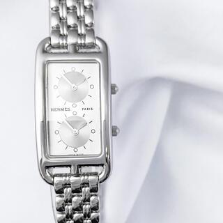 エルメス(Hermes)の【仕上済】エルメス ケープコッド ドゥゾーン ブレス レディース 腕時計(腕時計)