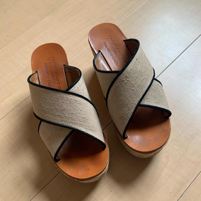 FABIO RUSCONI(ファビオルスコーニ)のファビオルスコーニ サンダル レディースの靴/シューズ(サンダル)の商品写真
