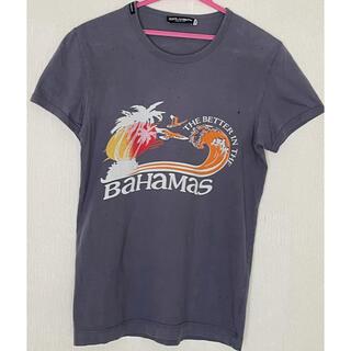ドルチェアンドガッバーナ(DOLCE&GABBANA)のDOLCE&GABBANA ダメージ加工 メンズ サーフTシャツ 44(Tシャツ/カットソー(半袖/袖なし))