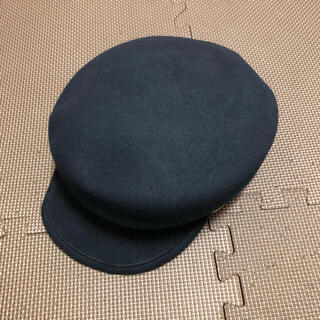 カシラ(CA4LA)の美品 CA4LA カシラ 帽子 キャスケット(キャスケット)