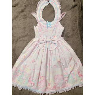 アンジェリックプリティー(Angelic Pretty)のドリーミィドールハウスラウンドジャンパースカート(ミニワンピース)