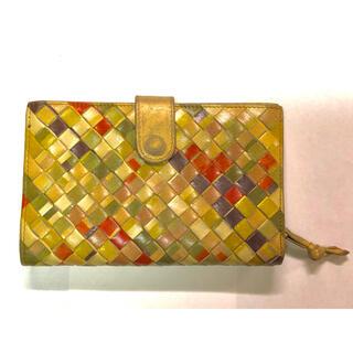 ボッテガヴェネタ(Bottega Veneta)のBOTTEGA VENETA ボッテガヴェネタイントレチャート 二つ折り財布 (折り財布)