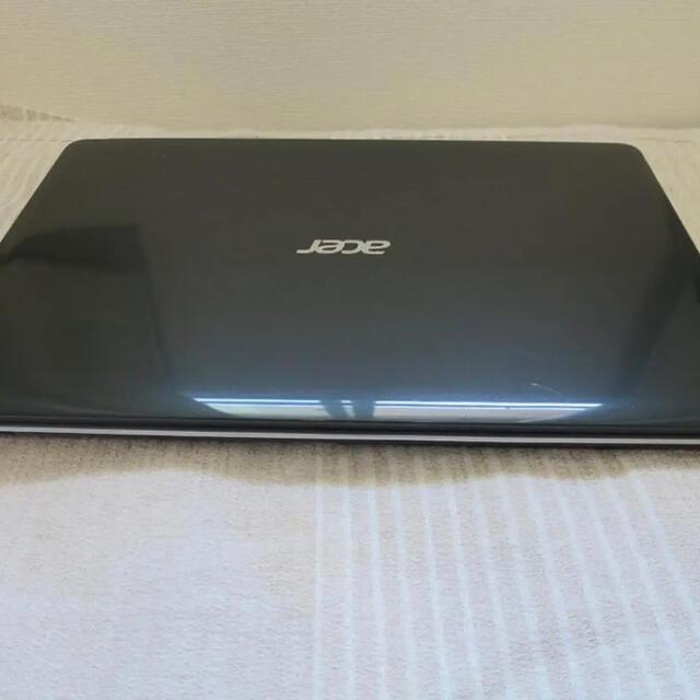 Acer(エイサー)の【今週までのお譲り】acerAspireE8GB/SSD120GB スマホ/家電/カメラのPC/タブレット(ノートPC)の商品写真