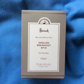 ハロッズ(Harrods)のハロッズ NO.14 イングリッシュ ブレックファスト 50ティーバッグ 紅茶(茶)