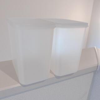 ムジルシリョウヒン(MUJI (無印良品))の無印良品❤️ポリプロピレン/容器2点セット  (ケース/ボックス)