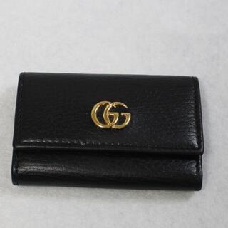 Gucci - GUCCI グッチ GG マーモント 6連 レザー キーケース