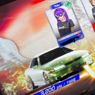 イニシャルD The arcade データ(ゲーム)