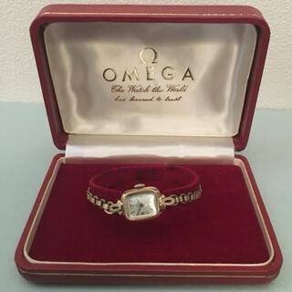 OMEGA - OMEGA オメガ レディース スクエア型 アンティーク時計 箱付き