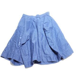 ヴィヴィアンウエストウッド(Vivienne Westwood)のVivienne Westwood デニムスカート レディース ブルー(ひざ丈スカート)