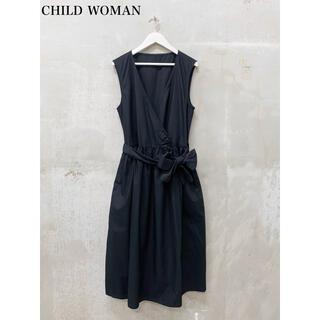チャイルドウーマン(CHILD WOMAN)の【CHILD  WOMAN】カシュクールワンピース チャイルドウーマン(ロングワンピース/マキシワンピース)