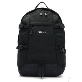 MILKFED. - MILKFED ミルクフェド バックパック  【gnew】[03172027]