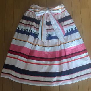 ケイトスペードニューヨーク(kate spade new york)のケイトスペード フレアスカート(ひざ丈スカート)
