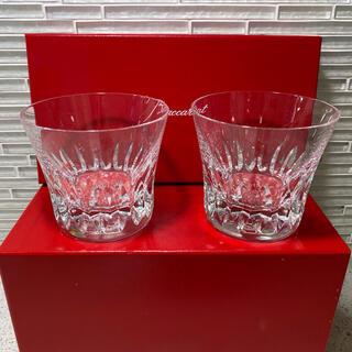 バカラ(Baccarat)の新品未使用 Baccarat バカラ  ローザ タンブラーの底面に 2015年(グラス/カップ)
