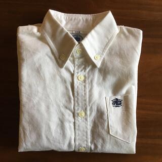 ジェイプレス(J.PRESS)のJ.PRESS 半袖シャツ 白 110(Tシャツ/カットソー)