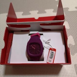 プーマ(PUMA)のPUMA腕時計 (パープル) 新品未使用!(腕時計)