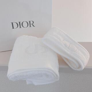 Dior - 新品未使用❤️DIOR❤️フェイスタオル&ヘアバンド