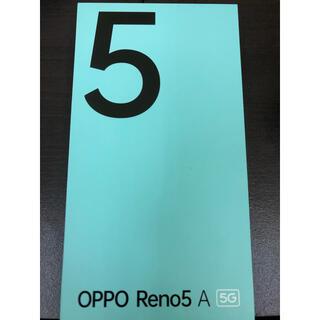 オッポ(OPPO)のoppo reno5a simフリー 5G(スマートフォン本体)
