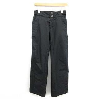 デサント(DESCENTE)のデサント スキー スノボウェア パンツ スラックス 中綿 タグ付き L 黒(ウエア)