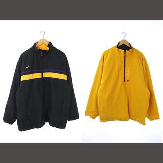 NIKE - ナイキ NIKE TEAM LAKERS ジャケット M 黒 ブラック 黄色