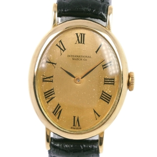 インターナショナルウォッチカンパニー(IWC)のインターナショナルウォッチカンパニー オーバル  cal.412(腕時計)