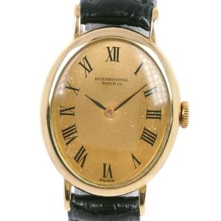 インターナショナルウォッチカンパニー(IWC)のアイダブリューシー シャフハウゼン オーバル cal.412 K18(腕時計)