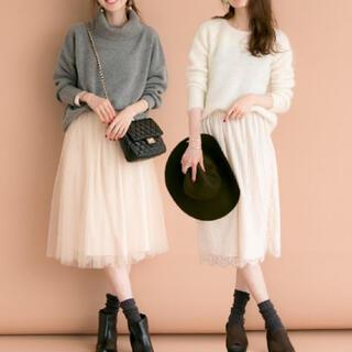 アーバンリサーチ(URBAN RESEARCH)の美品 アーバンリサーチ チュールセットスカート(ひざ丈スカート)