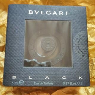 ブルガリ(BVLGARI)のBVLGARI BLACKブルガリ ブラック ミニ香水 オーデトワレ 5ml(ユニセックス)