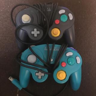 ニンテンドーゲームキューブ(ニンテンドーゲームキューブ)の中古2個セット ゲームキューブコントローラー(その他)