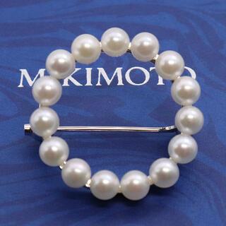 MIKIMOTO - ミキモト サークル パール ブローチ