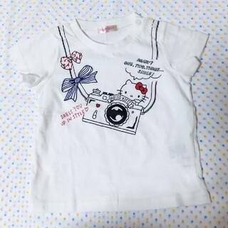 サンリオ - キティちゃん半袖Tシャツ90サイズ☆