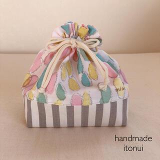 mina perhonen - ミナペルホネン jelly beans ハンドメイド リバーシブルお弁当袋