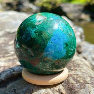 5種類混合石✨マラカイト クリソコラ アズライト キュープライト クォーツ 原石(置物)