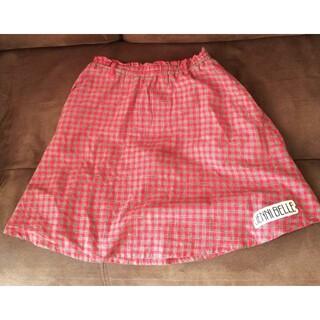 ジェニィ(JENNI)のJENNI BELLE ☆160cmチェックスカート☆ジェニィベル(スカート)