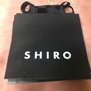 シロ(shiro)のSHIRO ショップ袋×3(ショップ袋)