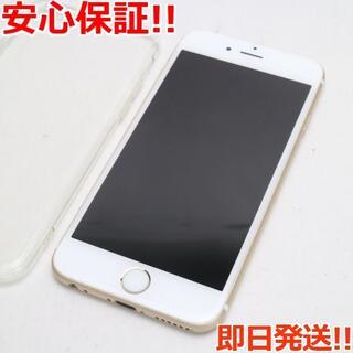 アイフォーン(iPhone)の美品 SIMフリー iPhone6S 16GB ゴールド (スマートフォン本体)