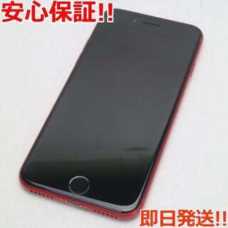 アイフォーン(iPhone)の美品 SIMフリー iPhone SE 第2世代 128GB レッド (スマートフォン本体)