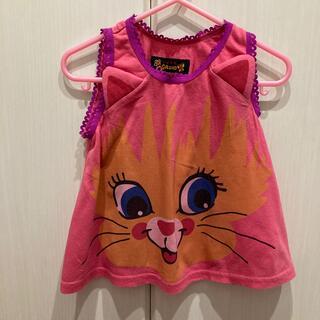 グラグラ(GrandGround)のグラグラ猫ちゃんタンクトップ90センチ(Tシャツ/カットソー)