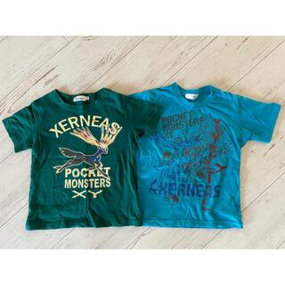 ポケモン(ポケモン)のポケモン 半袖 2枚セット 120(Tシャツ/カットソー)