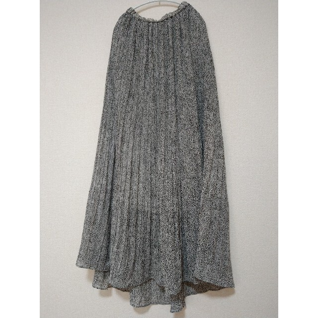 IENA SLOBE(イエナスローブ)のフルムーン901様専用 レオパードプリントプリーツスカート レディースのスカート(ロングスカート)の商品写真