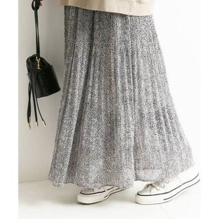 IENA SLOBE - SLOBE IENAレオパードプリントプリーツスカート