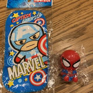 マーベル(MARVEL)のマーベル スパイダーマン 人形 フィギュア ガチャガチャ 新品(アメコミ)